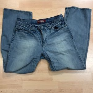 Mens Express Jeans Size 33 x 32 non smoker